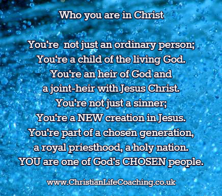 Who I am In Christ - knowing who you are in Christ is crucial