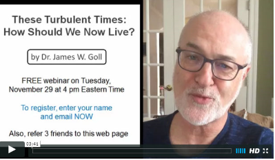 How to Live In Turbulent Times