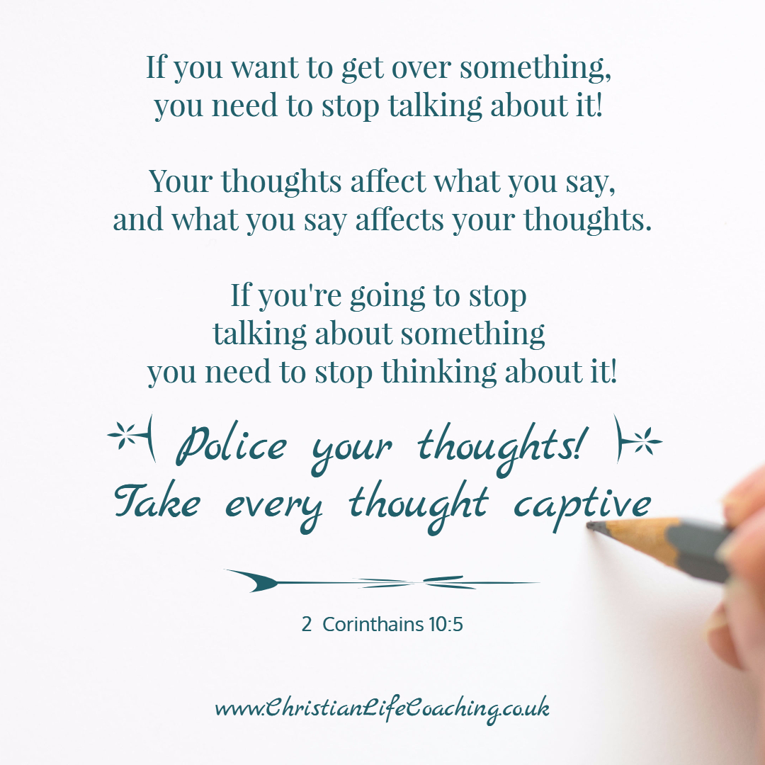 Take thoughts captive